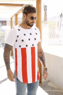 CAMISETA LONG AMERICAN STAR